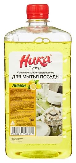 Профхим для посуды для ручного мытья ника/супер, 1кг(Пэт)  Ника