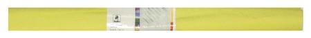 Бумага для творчества креповая, Werola, 50см*250см 32г/м лимон, 12061-102  Werola