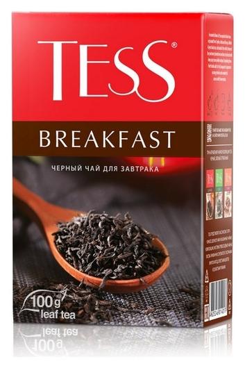 Чай Tess Breakfast листовой черный,100г 1401-15  Tess