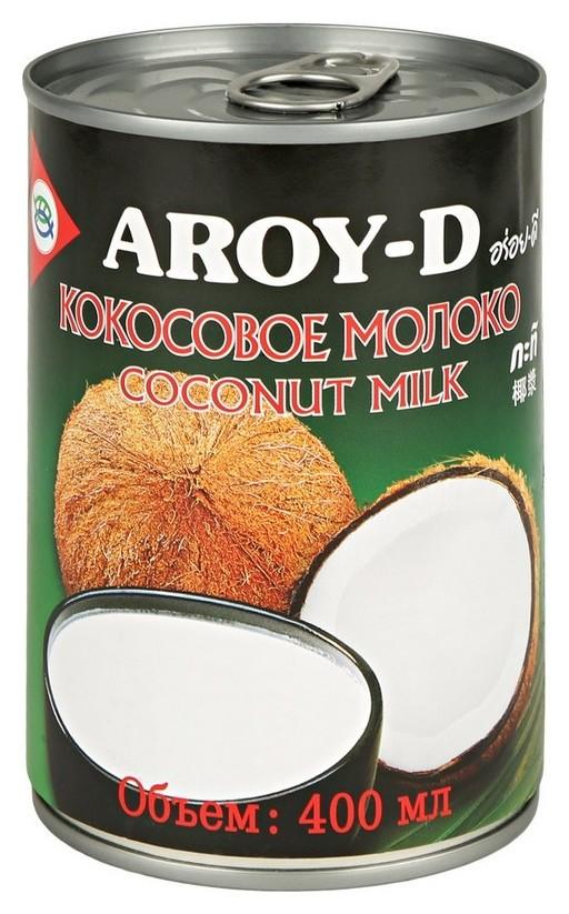 Молоко кокосовое Aroy-d 70%, жирность 17-19%, 0,4 л  Aroy-D