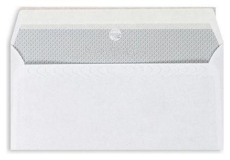Конверты белый E65стрип Garantpost110х220 1000шт/уп/1911  Packpost