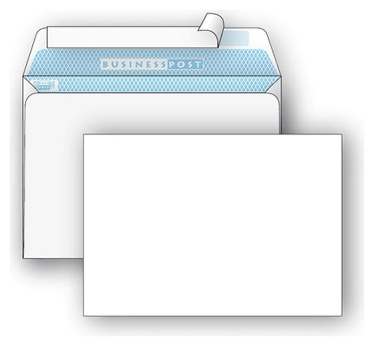 Конверты белый C5 стрип Businesspost 162х229 1000шт/уп/2876  Packpost