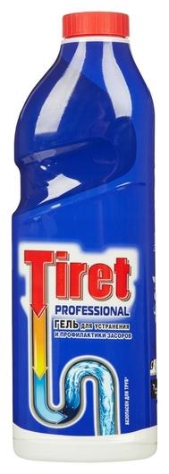Средство для прочистки труб Tiret гель 1л  Tiret