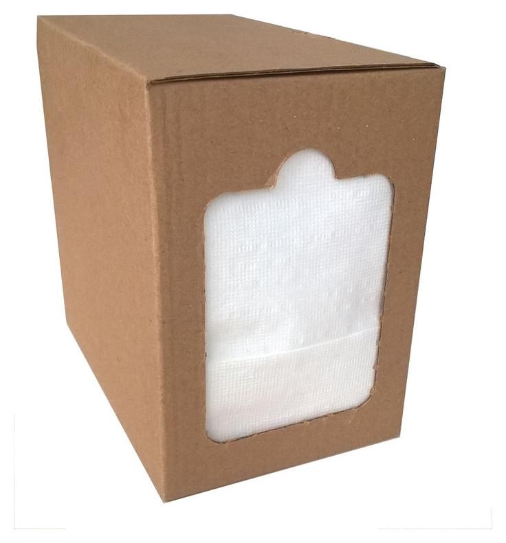 Салфетки бумажные в диспенсере 1-слойные, белые, 250л/уп.  NNB