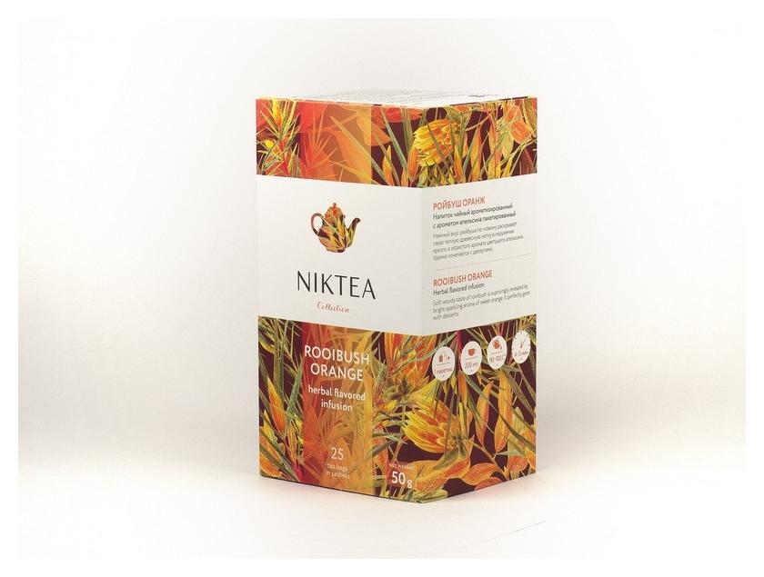 Чай Niktea ройбуш оранж, 25 пакx2гр/уп  Niktea