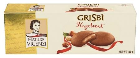 Печенье Grisbi ореховый крем, 150г  Grisbi