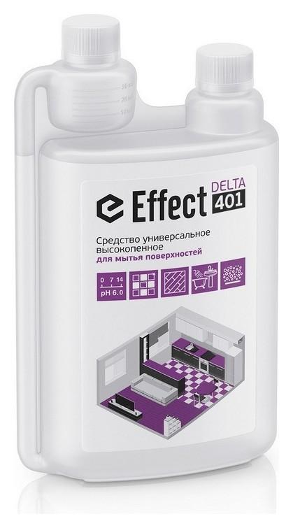 Профхим для руч.мытья пола нейтрал с дез-эфф Effect/delta 401, 1л  Effect