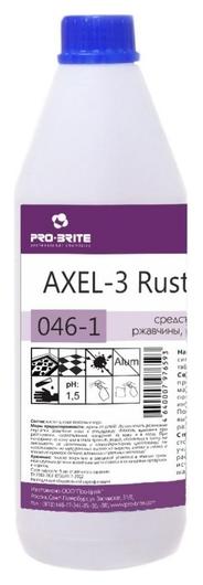 Профхим интерьер пятновывод кровь-ржавч Pro-brite/axel-3 Rust Remover,1л  Pro-brite