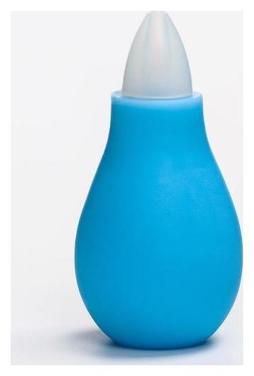 Аспиратор назальный, с колпачком, цвет голубой  Крошка Я