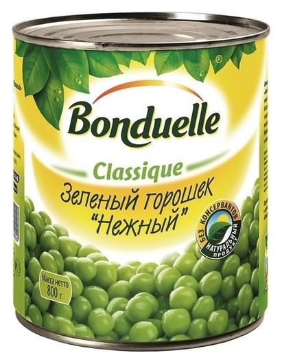 Консервация зелёный горошек 800г  Bonduelle