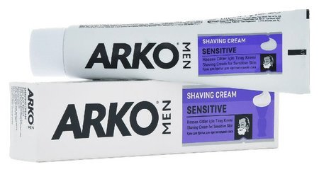 "Крем для бритья ""Sensitive""  Arko"