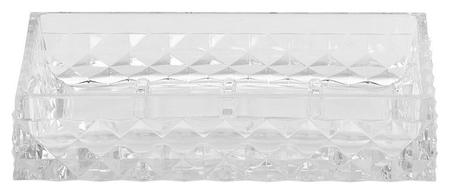 Мыльница Rapas прозрачный, пластик Swensa