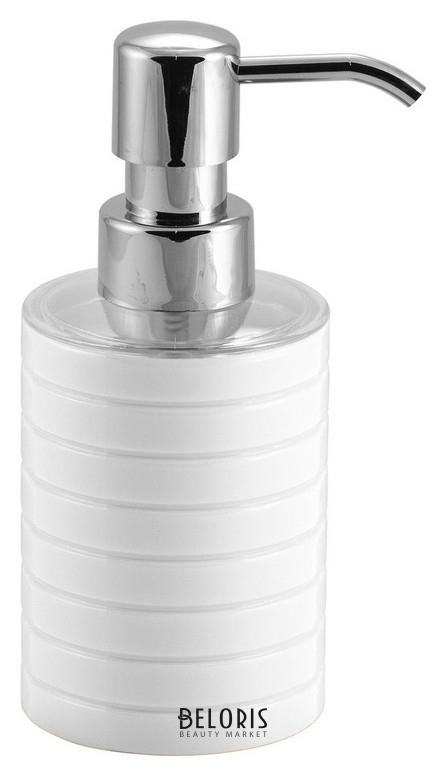 Дозатор для жидкого мыла Trento белый, пластик Swensa