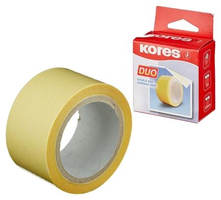 Клейкая лента канцелярская Kores двусторонняя 30х5 55530  Kores