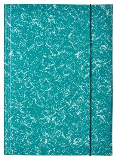 Папка картонные аttache на резинке, зеленый  Attache