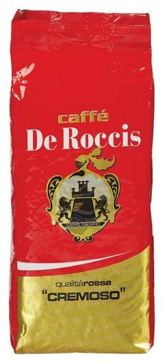 Кофе DE Roccis Cremoso в зернах 1кг De Roccis