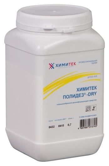 Профхим дезинфек для оборуд и мед, порошок химитек/полидез-dry, 700гр  Химитек