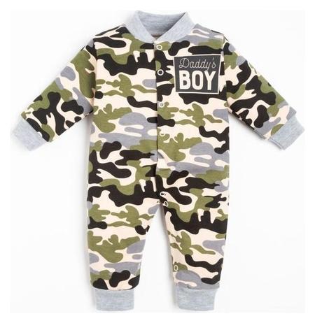 "Комбинезон крошка Я ""Daddy's Boy"" рост 62-68 см  Крошка Я"