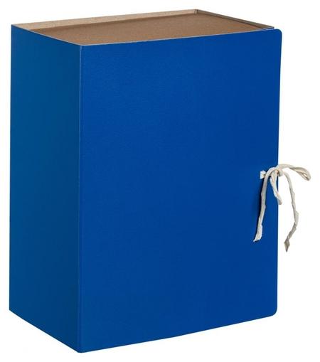 Короб архивный с завязками 150мм Attache Economy,бв,синий  Attache