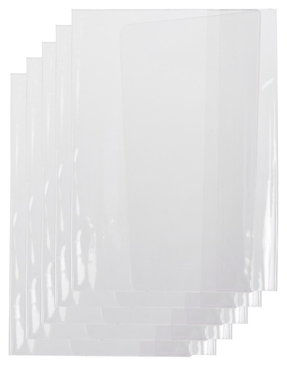 Обложка для учебн. и тетр. универ. 302x580мм 110мкм 2145.1, 5шт/уп  №1 School