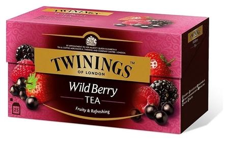 Чай Twinings Wild Berries, 25 пакетиков Twinings