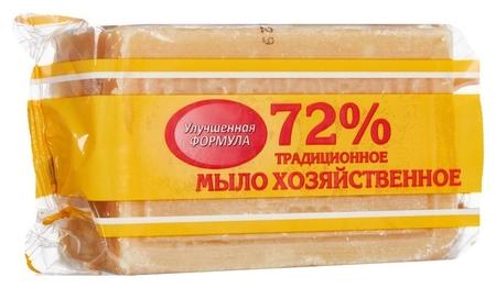 Мыло хозяйственное 200 г 72% в обертке гост 30266-95 меридиан Меридиан