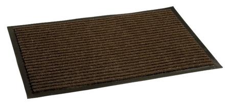 Ковер входной влаговпитывающий Luscan 900х1200 мм коричневый  Luscan