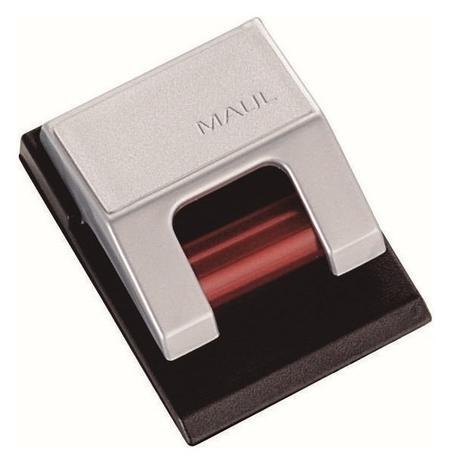 Зажимы роликовые на клейком держ, цвет серебр,10шт./уп арт.произв.6241094  Maul hebel