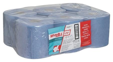 Материал протирочный нетканный Wypallxl10extracfeed Blu1p 38х18,5 6р/у 7493  Kimberly-clark
