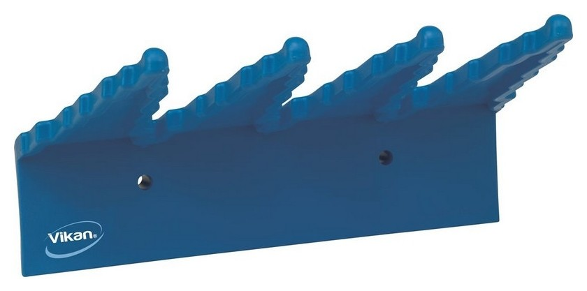 Держатель для инвентаря настенный Vikan 240мм синий 06153  Vikan
