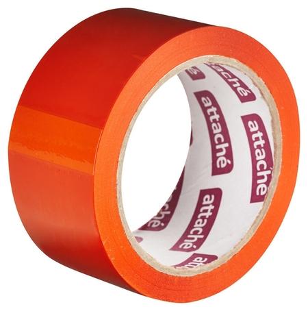 Клейкая лента упаковочная Attache 48мм х 66м 45мкм оранжевый  Attache