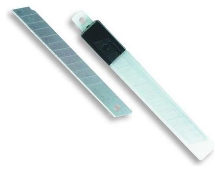 Лезвие запасное для ножей Attache 9мм 10шт./уп.пластиковый футляр  Attache