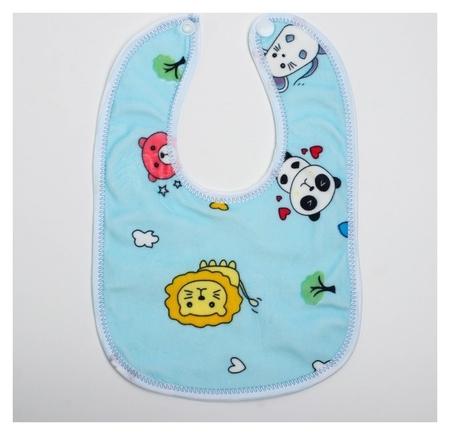 Нагрудник детский непромокаемый «Универсальный», на кнопках  Крошка Я