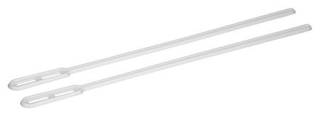 Размешиватель одноразовый 160мм,белый, комус ПП 1000 шт/уп