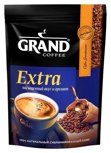 Кофе Grand Extra сублимированный, пакет 150 г.  Grand