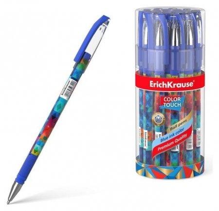 Ручка шариковая Erich Krause Colortouch Patchwork, чернила/синие 50742  Erich krause