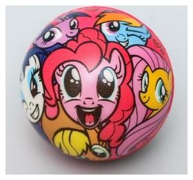 """Мягкий мяч """"Друзья"""" My Little Pony 6,3см"""
