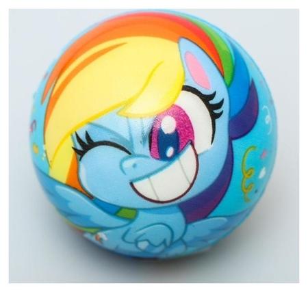 """Мягкий мяч """"Пони"""" My Little Pony 6,3см  Hasbro"""