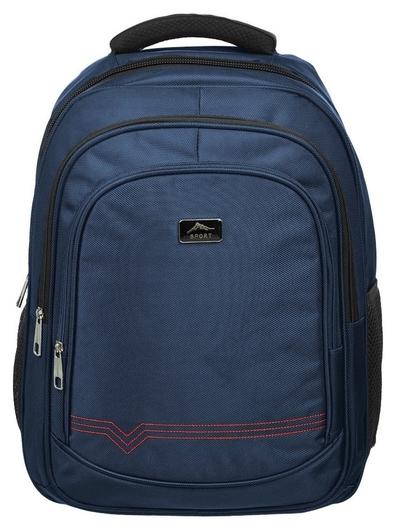 Рюкзак для старшеклассников синий  №1 School