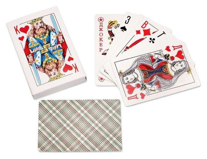 Карты игральные 54 шт/колода ин-0420  NNB