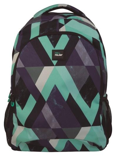 Рюкзак школьный Eye Tricks 45х30х12 см, синий, 624601et Milan