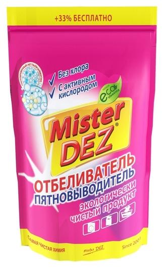 Отбеливатель пятно-тель с активным кислородом Mister Dez Eco-cleaning 800 г  Mister Dez