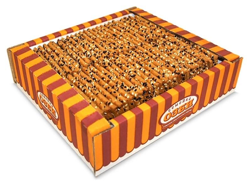 Печенье озби затяжное с кунжутом, 600г  Семейка Озби