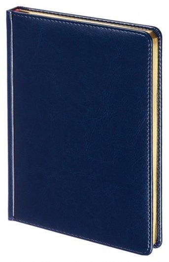Ежедневник недатированный синий,а5,145х205мм,136л, Sidney Nebraska  Альт