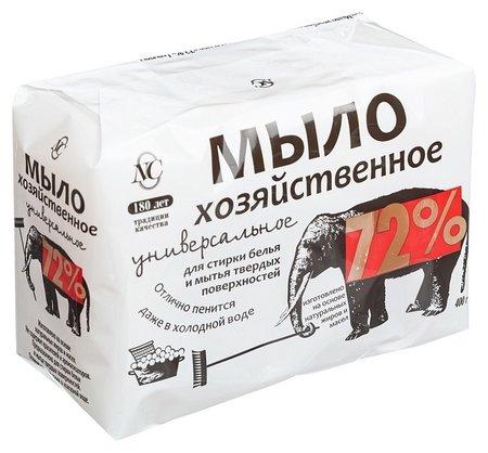 Мыло хозяйственное 72%  Невская косметика