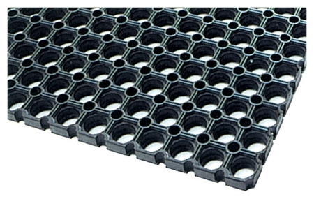 Покрытие резиновое универсальное (500х1000х14мм,черный)  NNB