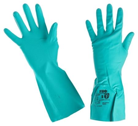 Перчатки защитные нитрил Риф (447513) (р.s(7) Small)  Ампаро