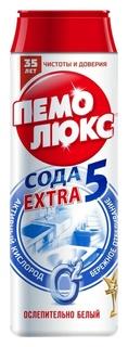 Универсальное чистящее средство пемолюкс экстра порош 480г (Ослепит белый)  Пемолюкс