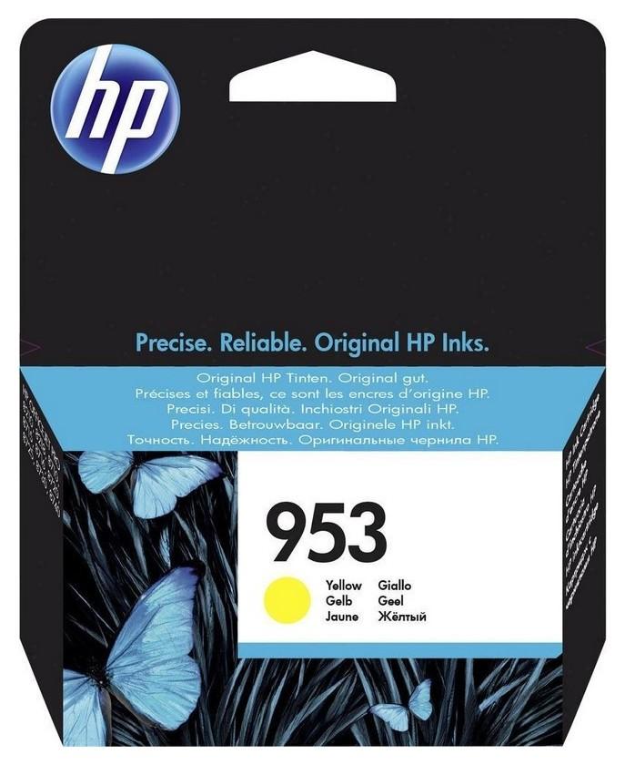 Картридж струйный HP 953 F6u14ae жел. для OJ Pro 8210/8720  Hp