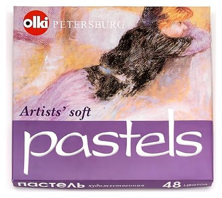 Пастель Olki Soft портрет 48 цв. сухая, арт.0045  Olki